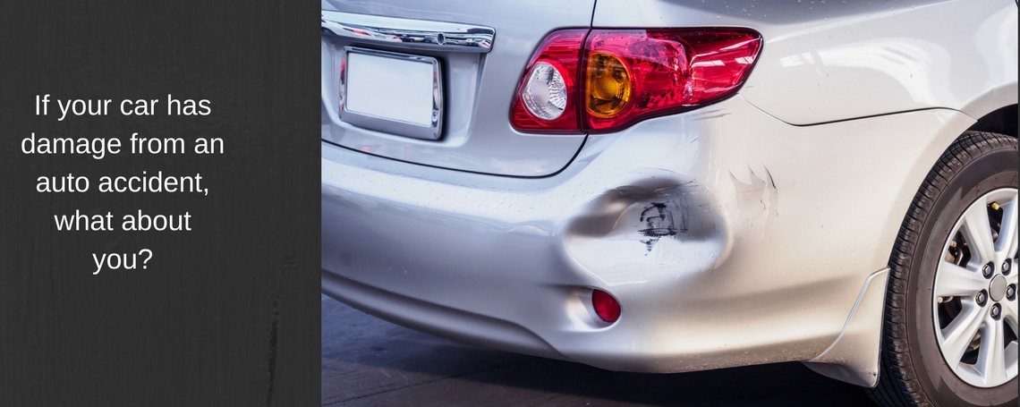 If Your Car Has Damage From An Auto Accident, What About You ...